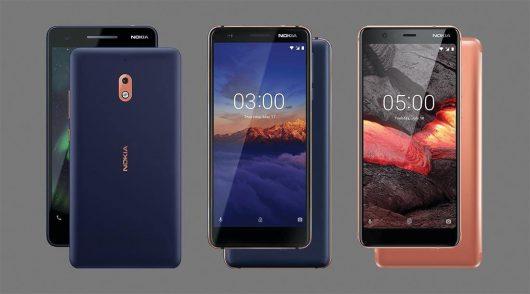 Nokia posodobila tri mobilnike