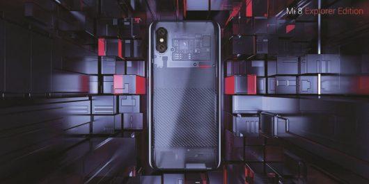 Xiaomi Mi 8 in Mi 8 Explorer Edition