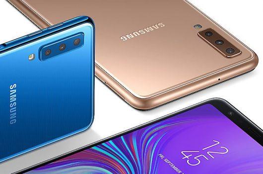 Samsung Galaxy A7 s tremi kamerami