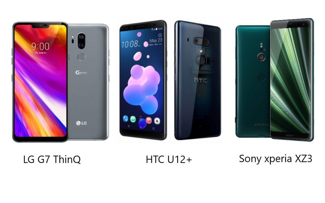 Najboljši mobilni telefoni 2018, 2.del