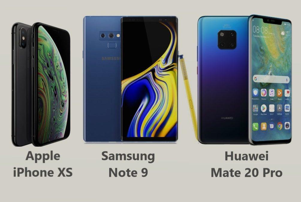Najboljši mobilni telefoni 2018, 1.del