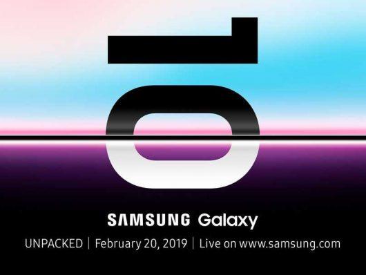 Prihaja Galaxy S10
