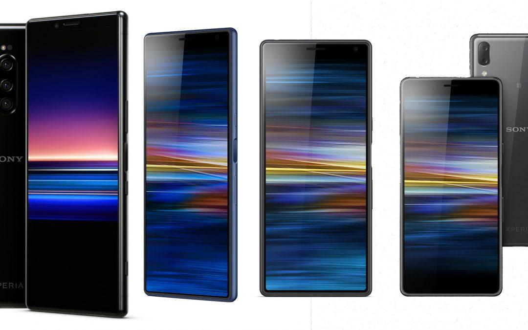 Sony z novimi telefoni: Xperia 1, 10, 10 Plus in L3