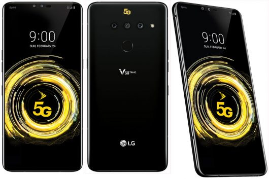 LG predstavil nove telefone V50 ThinQ 5G, G8 ThinQ in G8s ThinQ