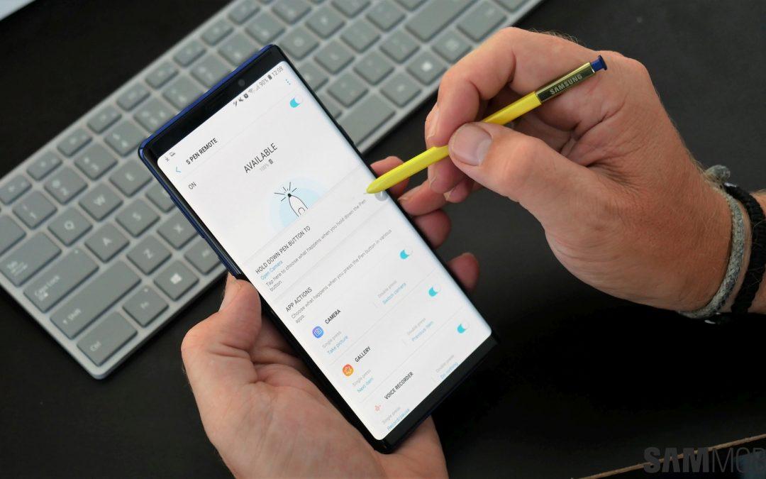 Galaxy Note 10 v štirih različicah