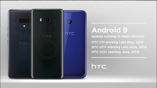 HTC telefoni z Android 9 Pie