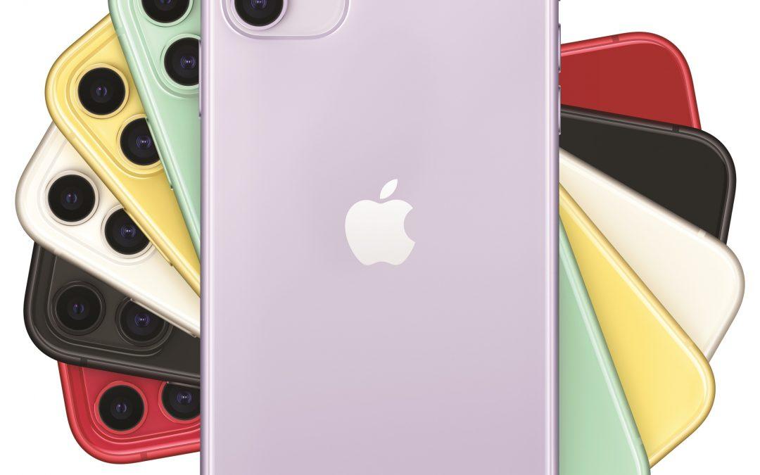 Prišel je iPhone 11