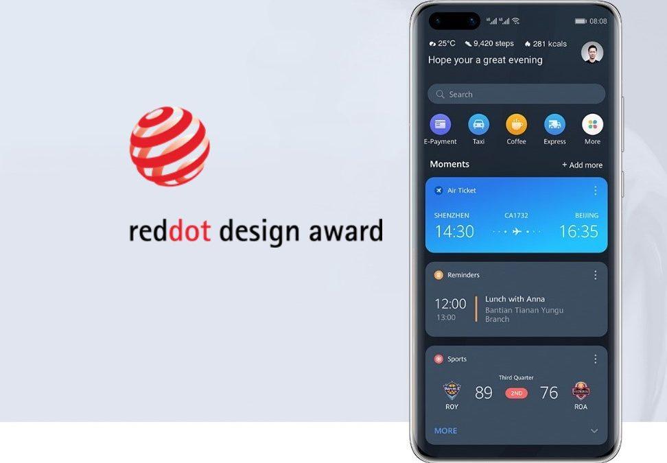 Huaweiev pametni asistent z nagrado Red Dot 2020