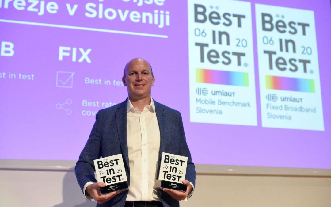 Telemach prejel certifikat za najboljše mobilno in fiksno omrežje