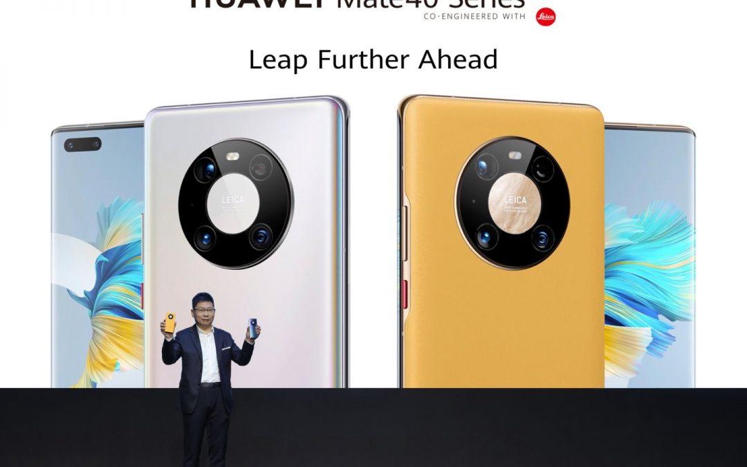 Huawei z novo serijo Mate 40
