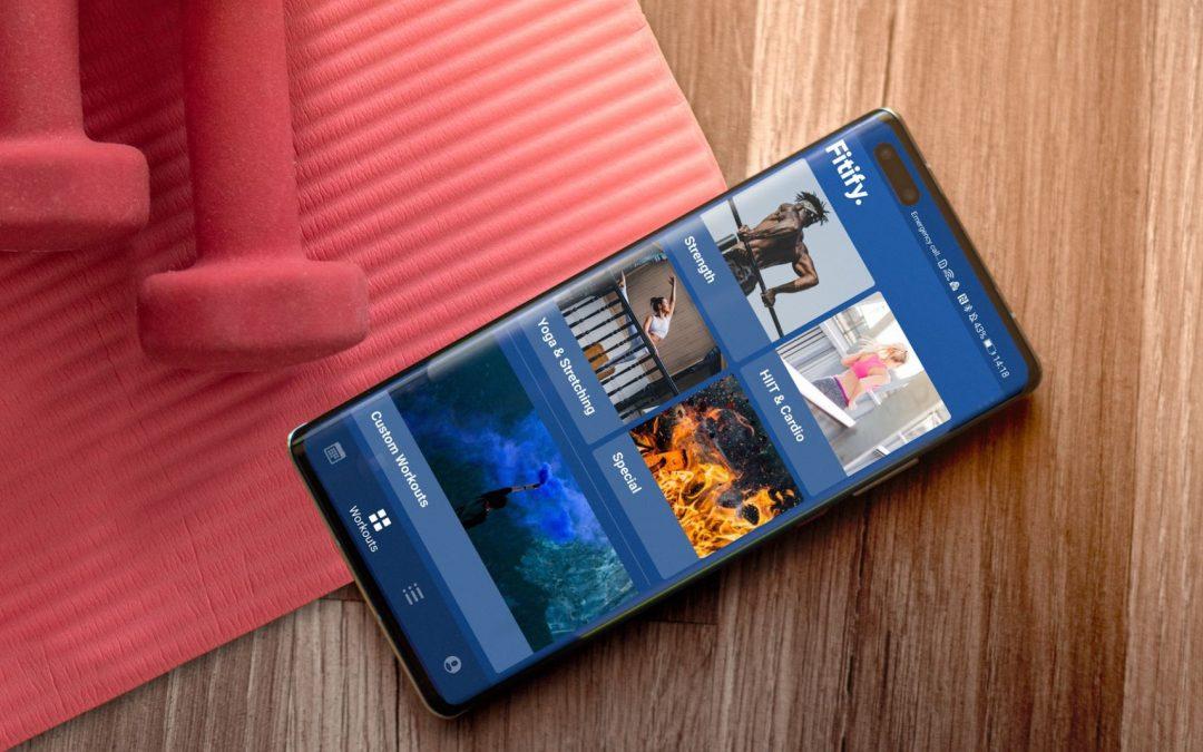 Fitify-prva neodvisna aplikacija za pametne ure Huawei