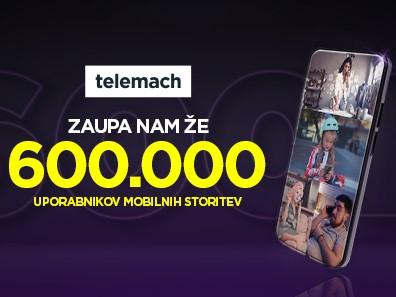 Telemach že z več kot 600.000 mobilnih uporabnikov