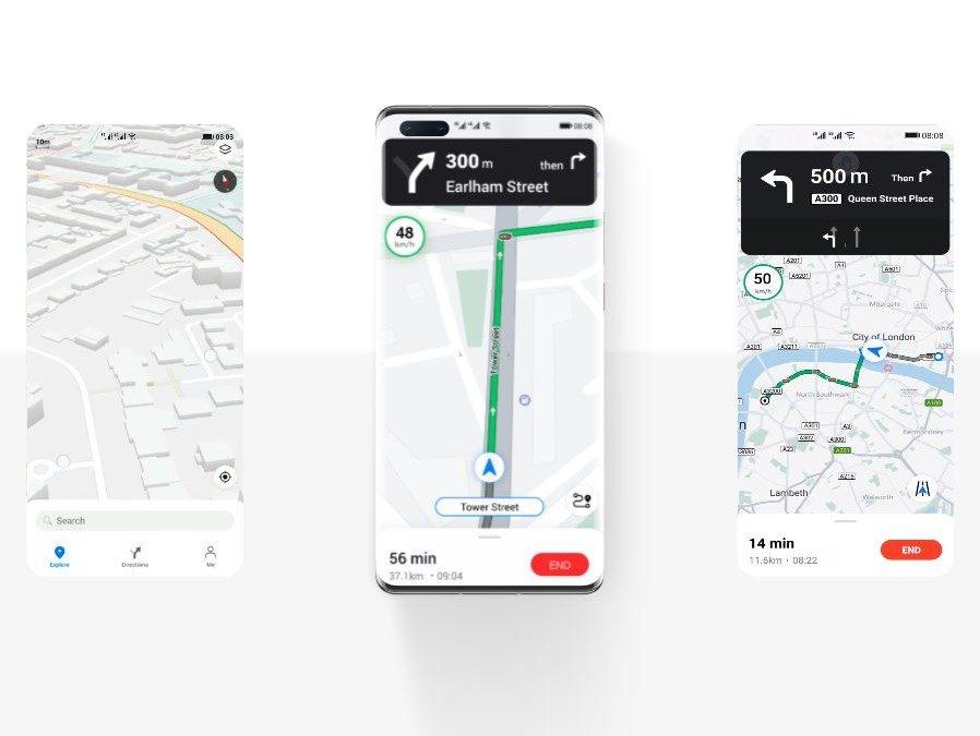 Petal Maps v AppGallery