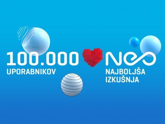 Platforma NEO z več kot 100.000 uporabnikov
