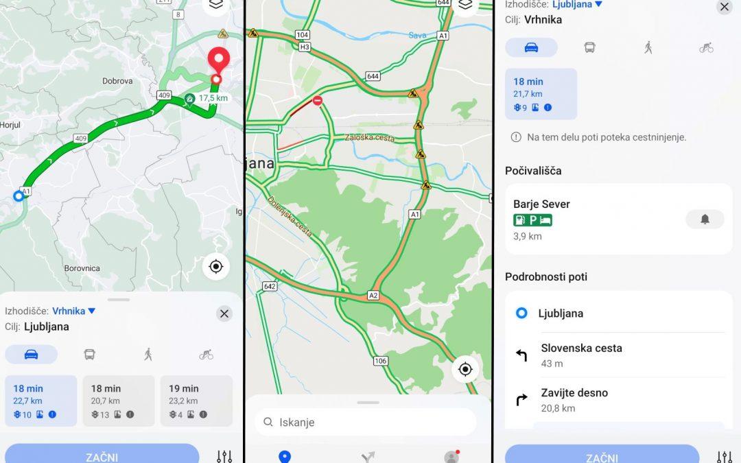 Petal Maps – navigacija Huawei