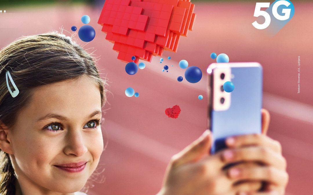 Telekom Slovenije z omrežjem 5G pokriva že več kot 33 % prebivalcev