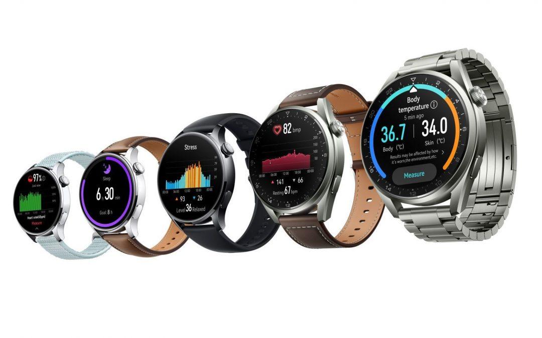 Nove pametne ure Huawei Watch 3