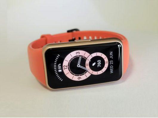 Na testu: Huawei Band 6 – športna ura  z  velikim zaslonom in odlično avtonomijo