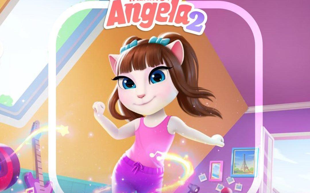 Najnovejša mobilna igra My Talking Angela 2 na voljo v trgovini AppGallery