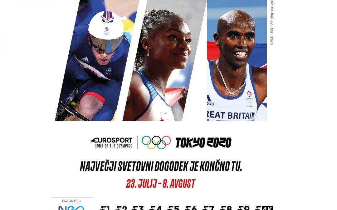 Med olimpijskimi igrami so naročnikom televizije Telekoma Slovenije na voljo dodatni TV-programi