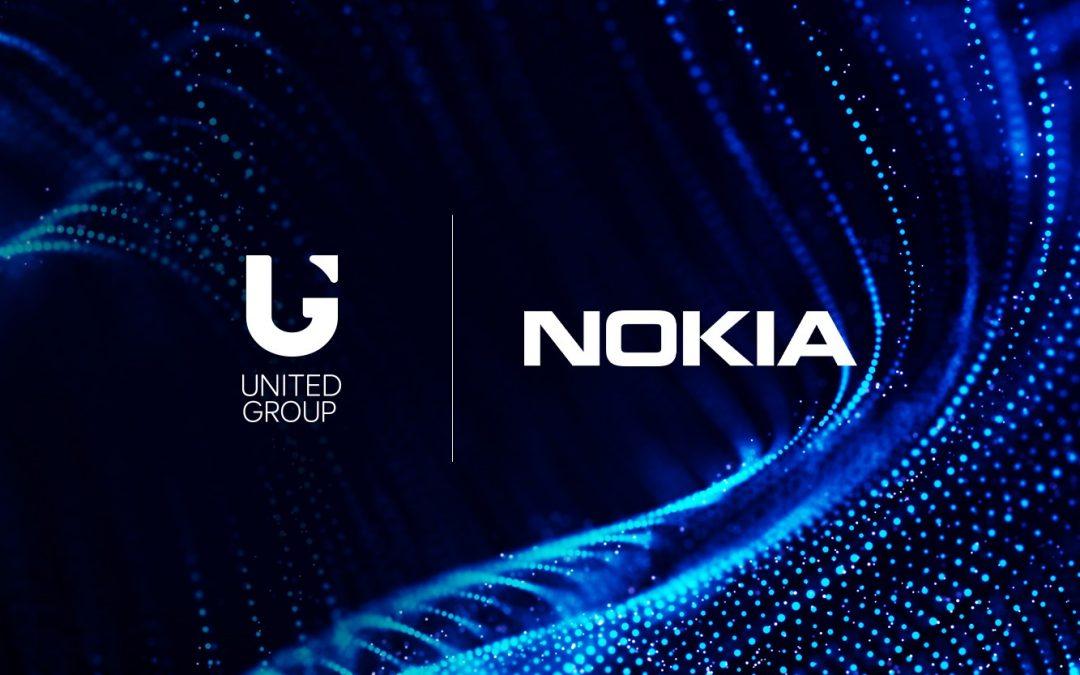 United Group z Nokio sklenil partnerstvo za nadgradnjo jedrnega mobilnega omrežja