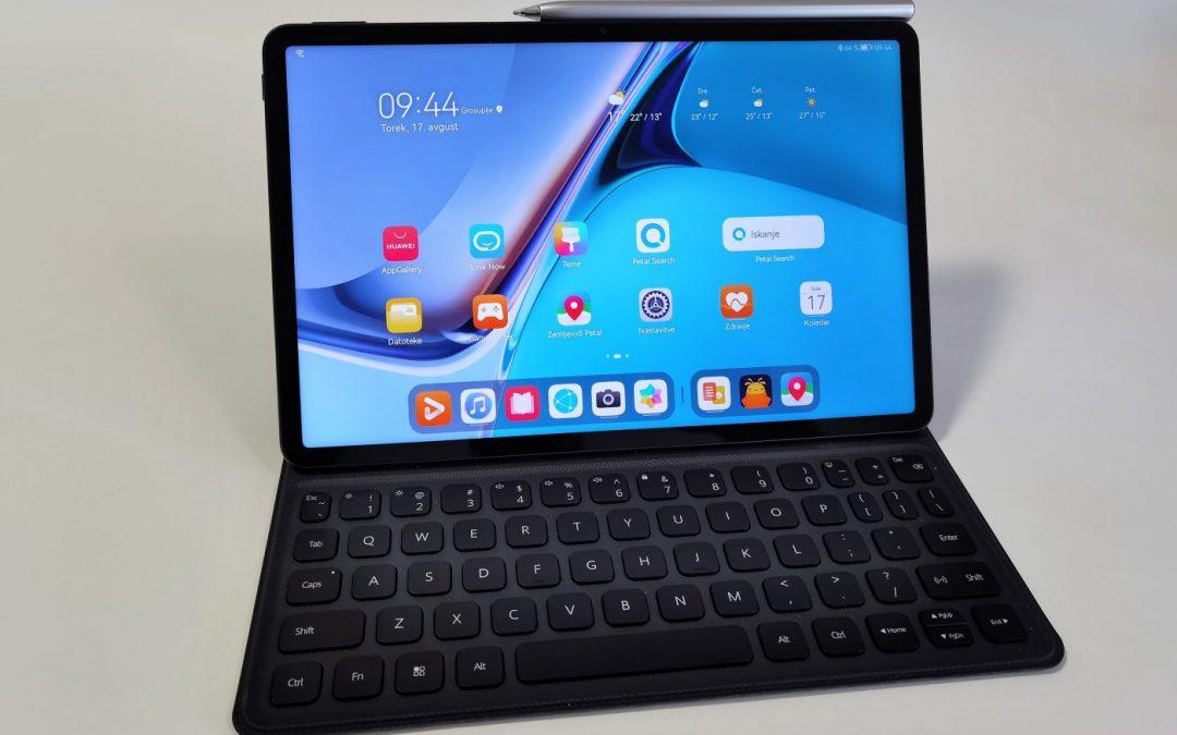 Na testu: Huawei MatePad 11- vsestranski medijski pripomoček