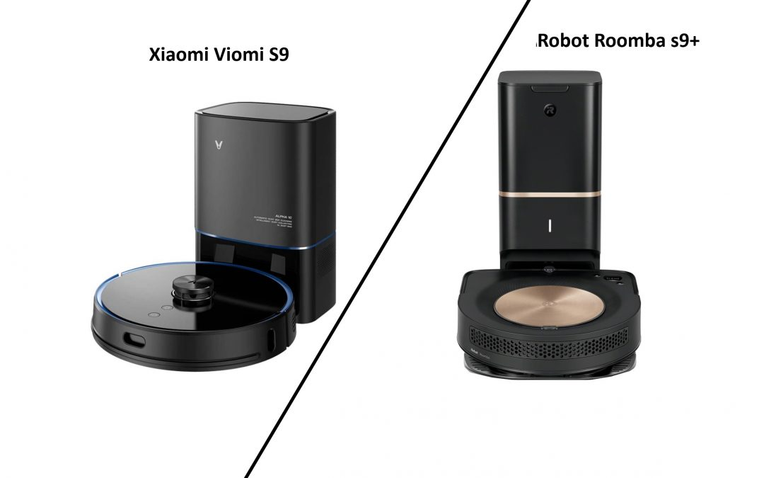 Učinkovitosti sesanja – Xiaomi Viomi S9 proti iRobot Roomba s9+