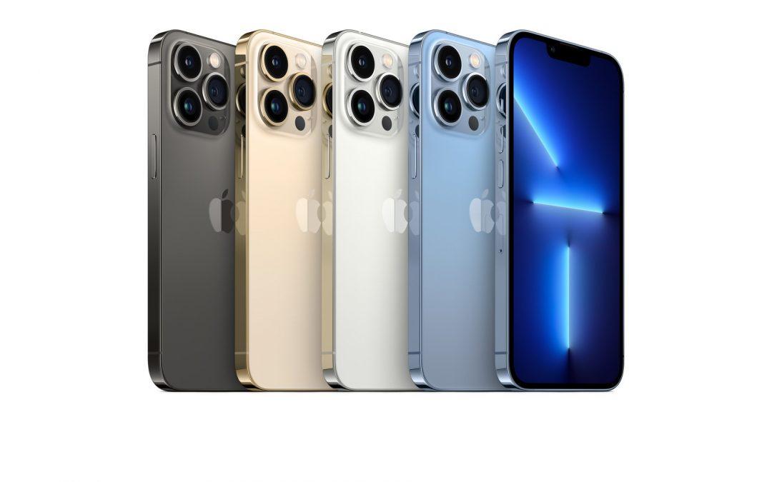 iPhone serije 13 na prodajnih mestih Telekoma Slovenije-cene